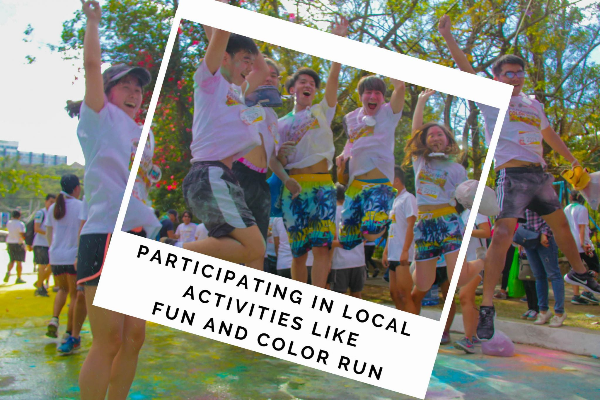 color fun run baguio