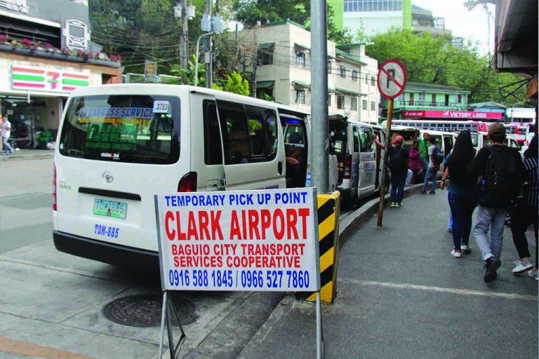 study english in baguio clark to airport