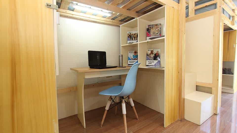 pines accommodation study area