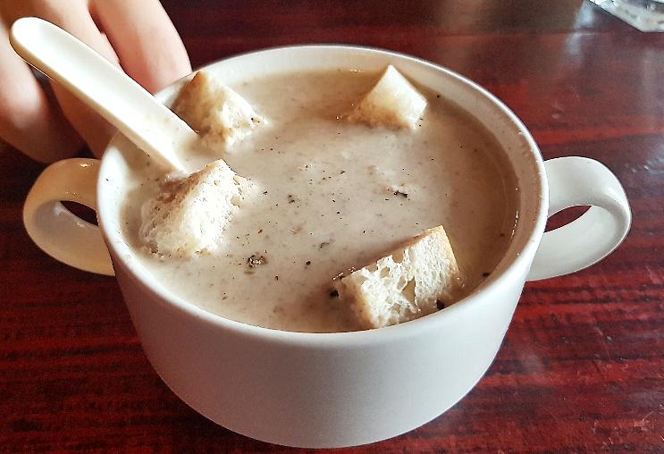 Mushroom Soup- Php 135